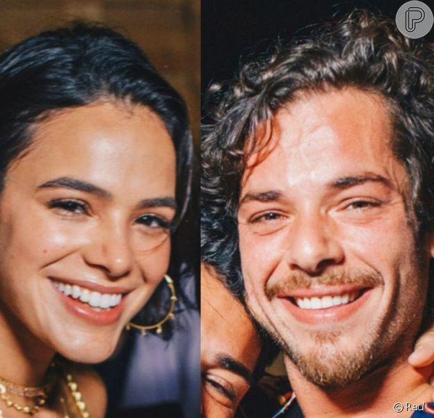 Bruna Marquezine e Gian Luca Ewbank curtiram show do Rock in Rio em clima de romance e deixaram o local juntos, informa o colunista Leo Dias