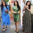 Meghan Markle usa vestidos estilosos em viagem pela África no último mês