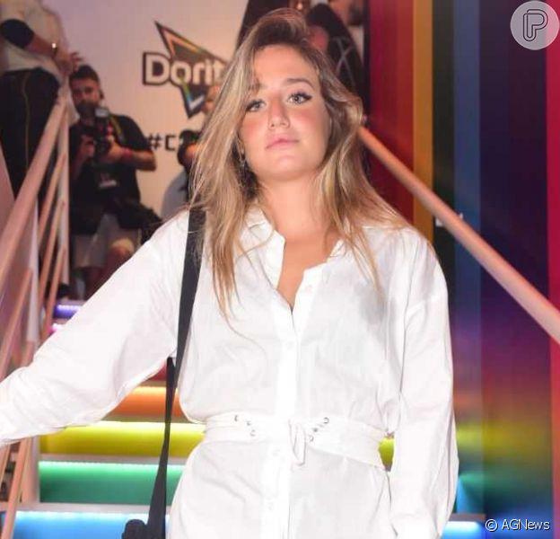Bruna Griphao afasta romance após fotos com Gabi Gol: 'É amigo'