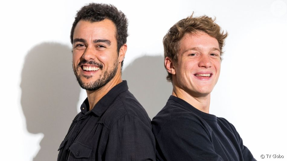 Filipe (Pedro Novaes) discute com Joaquim (Joaquim Lopes) por causa de Rita (Alanis Guillen) na novela 'Malhação: Toda Forma de Amar'