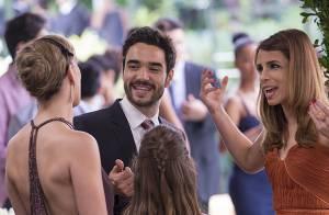 'Império': Maria Clara não se casa, mas mantém a festa. Veja fotos de bastidores