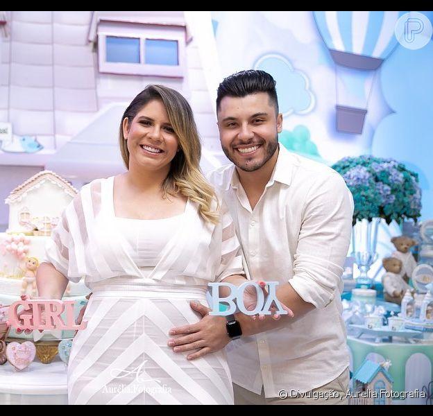 Namorando de Marilia Mendonça, Murilo Huff faz tatuagem em homenagem ao filho, Léo