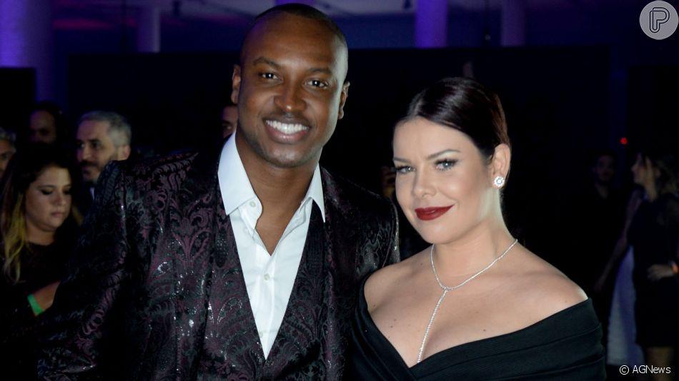 Fernanda Souza e Thiaguinho anunciam fim de casamento de quatro anos na tarde desta segunda-feira, 14 de outubro