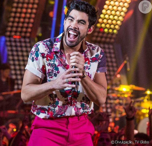 Noiva de Gabriel Diniz, Karoline Calheiros reúne músicas do cantor em declaração de aniversário nesta sexta-feira, dia 18 de outubro de 2019