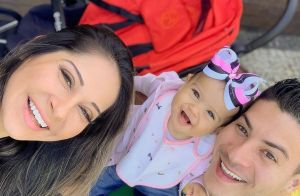 Mayra Cardi explica cardápio fit na festa de 1 ano da filha: 'Meus princípios'