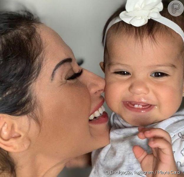 Mayra Cardi explica cardápio fitness no aniversário de 1 ano da filha, Sophia, em 20 de outubro de 2019