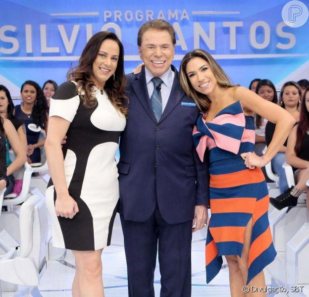 Filhas de Silvio Santos substituem o pai na TV por doença neste sábado, dia 26 de outubro de 2019