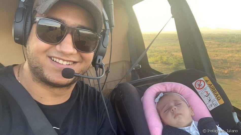 Juliano, da dupla com Henrique, publicou foto rara com a filha no Instagram
