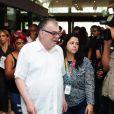 Walcyr Carrasco compareceu ao velório de Jorge Fernando e recordou parceria com o diretor: 'Foi fundamental para a construção da minha carreira'
