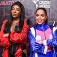 Anitta defende Ludmilla contra racismo em premiação: 'Crime inaceitável'