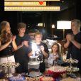 Angélica mostra família reunida em festa de 12 anos de Benício: 'Menino de luz'