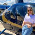 Naiara Azevedo revela truque de exercícios após emagrecer