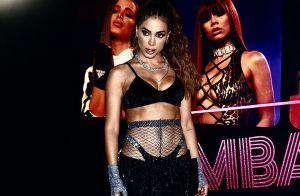 Anitta mostra prova de figurino em bastidor de show e é elogiada: 'Corpo lindo'