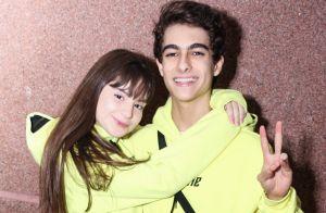 Sophia Valverde e o namorado, Lucas Burgatti, combinam looks em show. Fotos!