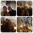 A artista compartilhou fotos da viagem com os seguidores do Instagram
