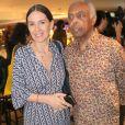 Gilberto Gil e a mulher, Floral Gil, vão ao lançamento do filme 'O   Juízo'   no cinema Rio Sul, no Rio de Janeiro, na noite desta terça-feira, 03 de dezembro de 2019