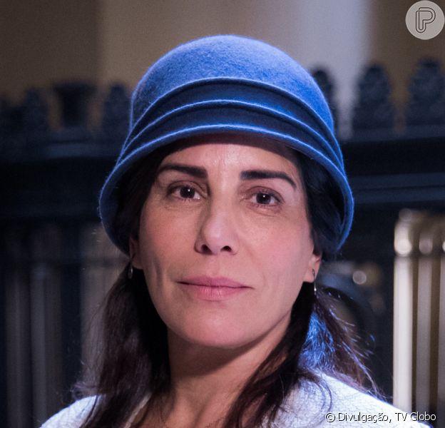Na novela 'Éramos Seis', Lola (Gloria Pires) implora ajuda de Assad (Werner Schünemann) ao se ver cheia de dívidas após a morte do marido, Júlio (Antonio Calloni)