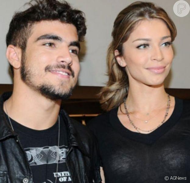 Grazi Massafera recebe comentário de Caio Castro em foto no Instagram, em 8 de dezembro de 2019