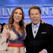 Silvio Santos ganha 'visita' de neta no palco e emociona filha Patricia. Vídeo!