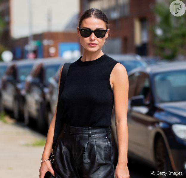 Look preto no verão 2020: vestido, top cropped, blusa e mais peças para montar uma produção fresquinha na estação mais quente do ano