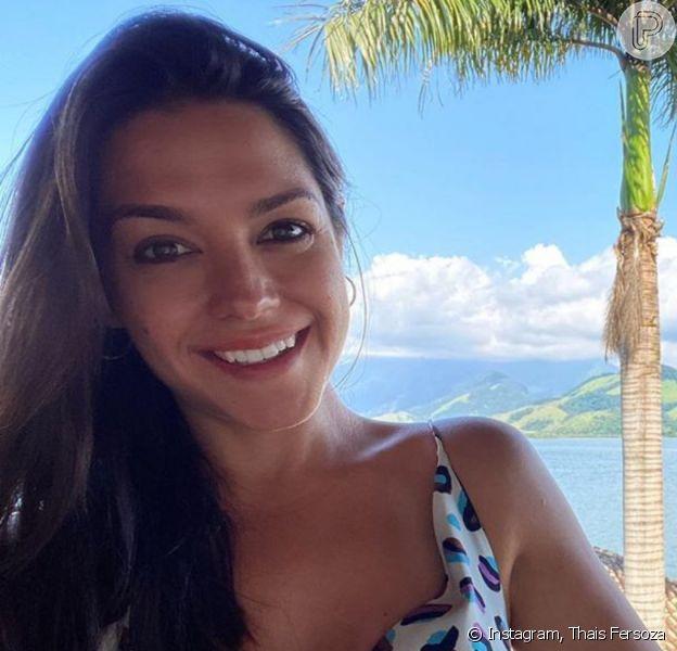 Thais Fersoza falou sobre a inserção dos filhos, Melinda e Teodoro, na web