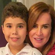 Zilu Godoi destaca aprendizado em aniversário do neto mais velho, José Marcus