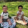 Rosângela Jacquin é mãe de Elise e Antoine, de 1 anos, frutos da relação com Erick Jacquin