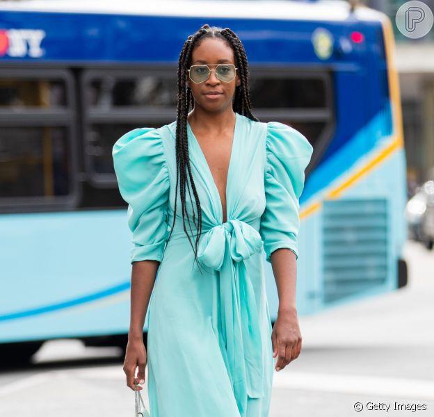 Tá na moda: vestido com babados e manga bufante, bermuda jeans e mais trends para aderir no verão e usar o ano todo. Inspire-se!