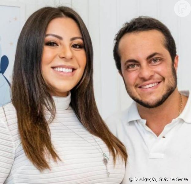 Mulher de Thammy Miranda, Andressa Ferreira compartilhou as primeiras fotos do filho do casal, Bento: 'Felicidade plena'