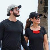 Casal fitness: Fátima Bernardes e Túlio Gadêlha se exercitam após férias. Fotos!