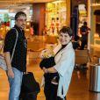 Filho de Leticia Colin e Michel Melamed, Uri tem 2 meses de vida