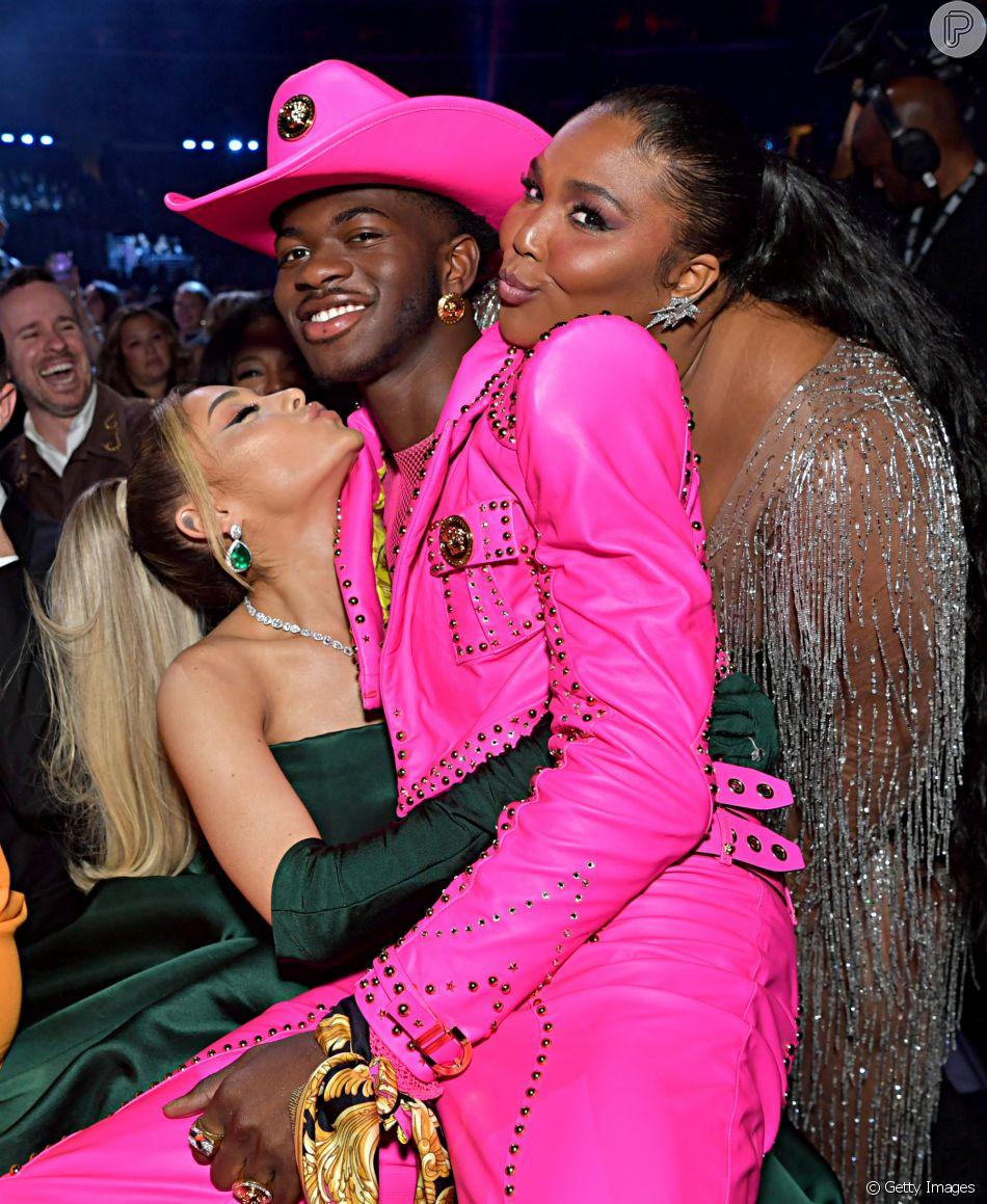 Lil Nas X Levou Trofeu Pelo Remix Viral Old Town Road E O Grammy De Melhor Performance Pop Em Dupla E De Melhor Videoclipe Em Parceria Com Billy Ray Cyrus Purepeople
