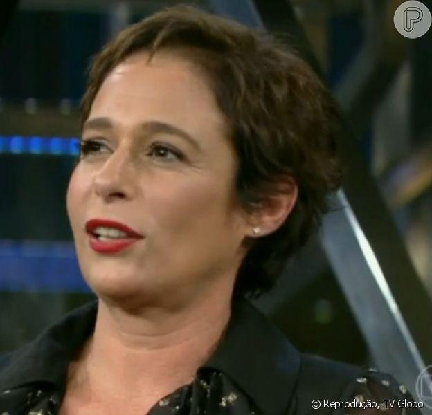 Andréa Beltrão contou ao 'Programa do Jô' como quer o seu enterro