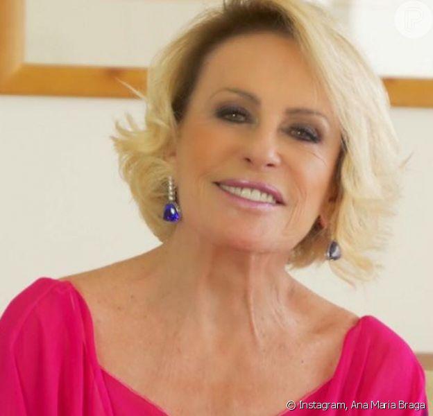 Ana Maria Braga, fora da TV e tratando câncer de pulmão, posta sobre altos e baixos da vida nesta quinta-feira, dia 06 de fevereiro de 2020