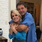 Ana Maria Braga mostra nova foto de casamento e Eliana vibra: 'Sejam felizes'
