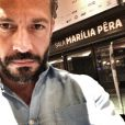 Malvino Salvador está em cartaz no Rio com a peça 'Chuva Constante - A felicidade é fora da lei'