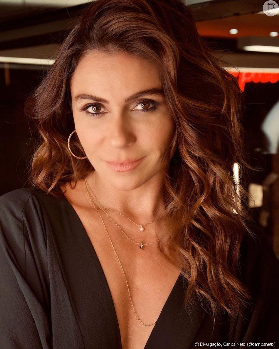 Giovanna Antonelli contou que prefere se ver com cabelo