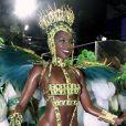Iza foi o grande destaque do desfile de carnaval da Imperatriz Leopoldinense