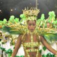 Maiô supercavado de Iza no desfile de carnaval da Imperatriz Leopoldinense foi criado pelo stylist Henrique Filho