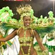 Iza foi ovacionada em desfile da Imperatriz Leopoldinense