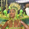 Iza representou a realeza no desfile da Imperatriz Leopoldinense