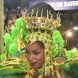 Iza brilhou em desfile da Imperatriz Leopoldinense