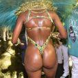 Iza mostrou o corpo sarado em desfile de carnaval da Imperatriz Leopoldinense