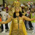 Emoção, brilho e mais: 20 fotos de Paolla Oliveira como Cleópatra na Grande Rio neste domingo, dia 23 de fevereiro de 2020