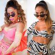 Veja fotos e detalhes dos looks usados por Anitta no Carnaval 2020