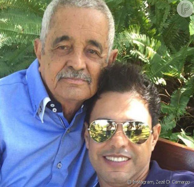 Zezé Di comemorou alta do pai, Francisco, nesta quinta-feira, 27 de fevereiro de 2020