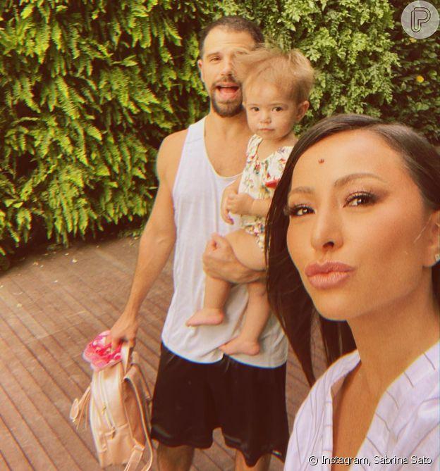 Sabrina Sato destaca parceria com o noivo, Duda Nagle nos cuidados com Zoe