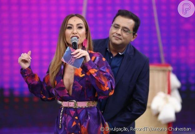 Sucessora de Geraldo Luis, Sabrina Sato recebeu dicas e apoio do apresentador