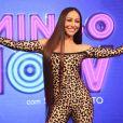 Sabrina Sato adianta que vai usar looks poderosos em seu programa dominical