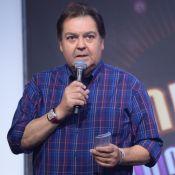 Faustão lamenta 1º 'Domingão' sem plateia por coronavírus e web comenta